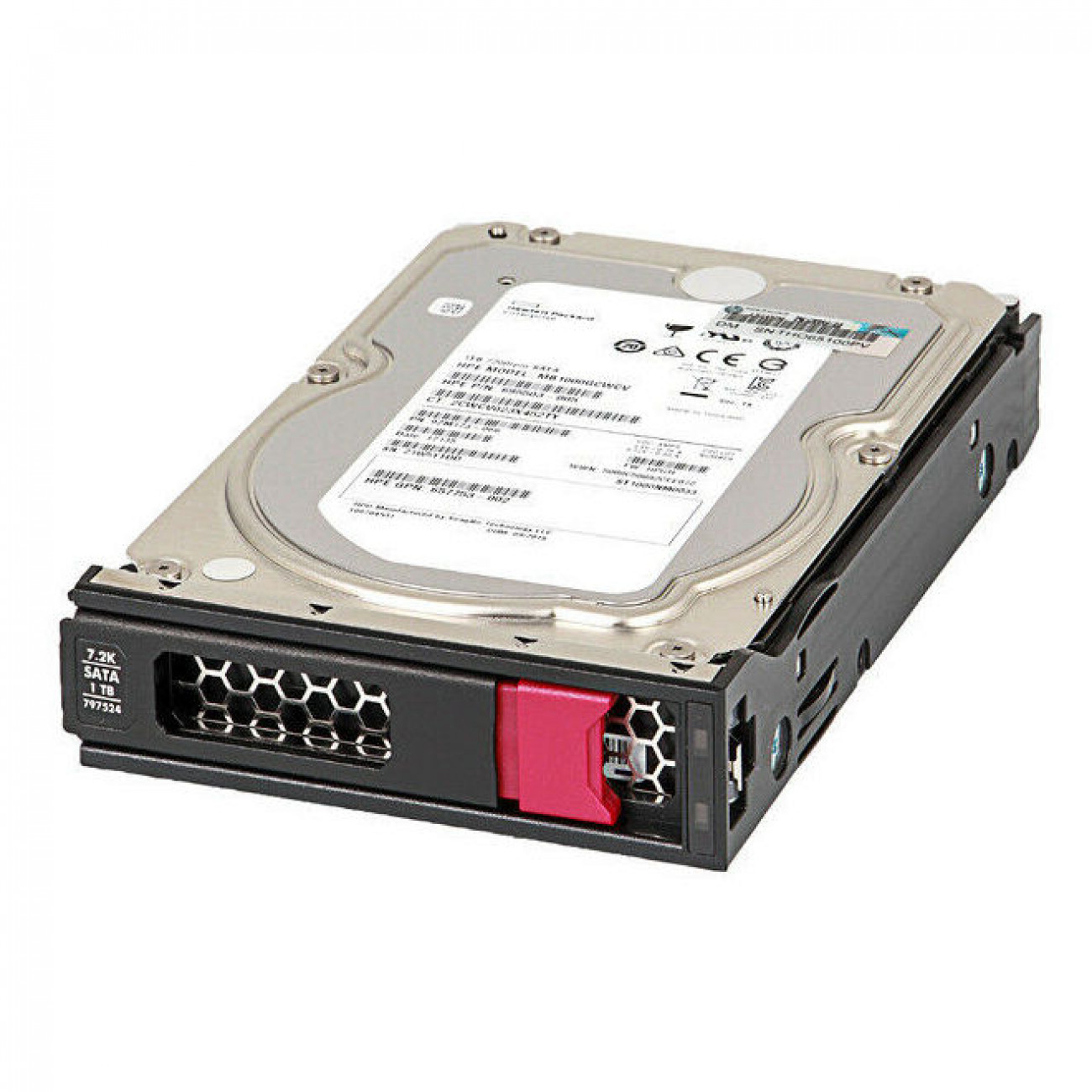HPE 2TB SATA 6G Midline 7.2K LFF (3.5in) LP 1yr Wty Digitally Signed Firmware HDD