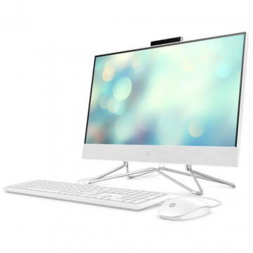 """Моноблок HP All-in-One 21.5"""" FHD/Intel Pen J5040/8/256F/int/kbm/DOS/White"""