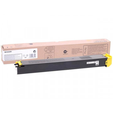 Картридж Sharp DX2500N, DX20GTYA Yellow 3k