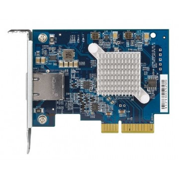 Сетевая карта QNAP Single-port (10Gbase-T) 10GbE Network Card PCIe Gen3 x4