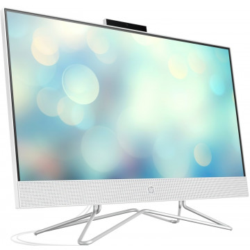 """Моноблок HP All-in-One 23.8"""" FHD/Intel Pen J5040/4/1000/int/kbm/DOS/White"""